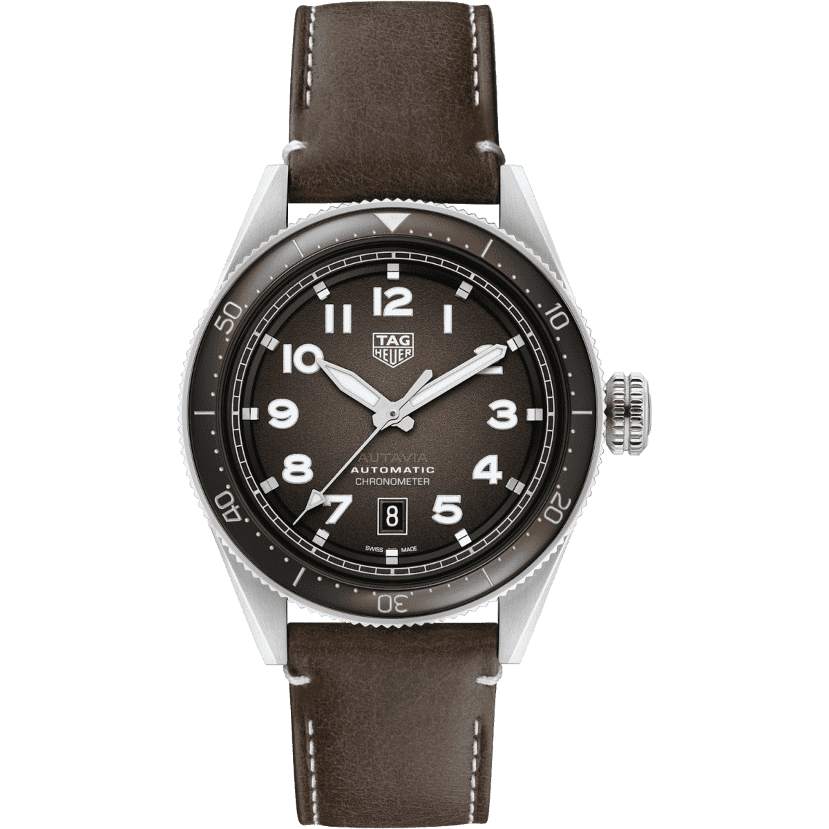 Мужские Часы Autavia Calibre 5 Chronometer 42 mm