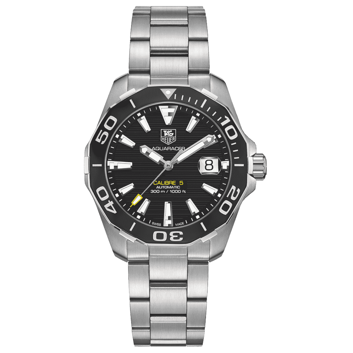 Мужские Часы Aquaracer 300m Calibre 5 Automatic Watch 41 mm